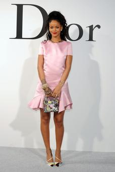 Rihanna attends the Christian Dior Cruise 2015 Show