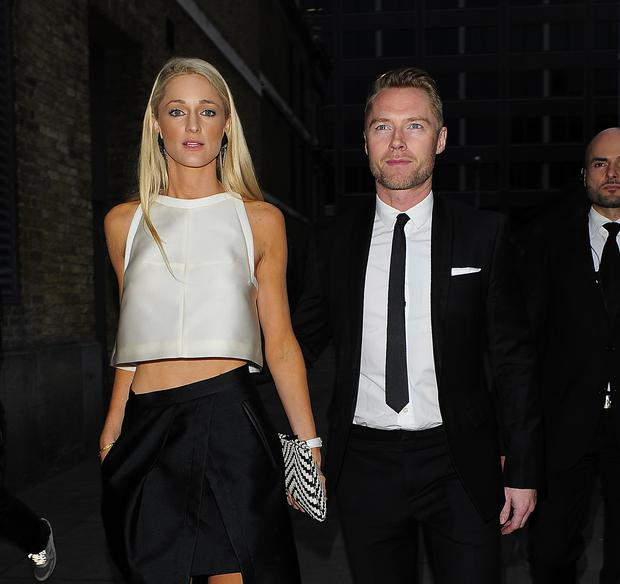 Ronan Keating and his Girlfriend Storm Uechtritz