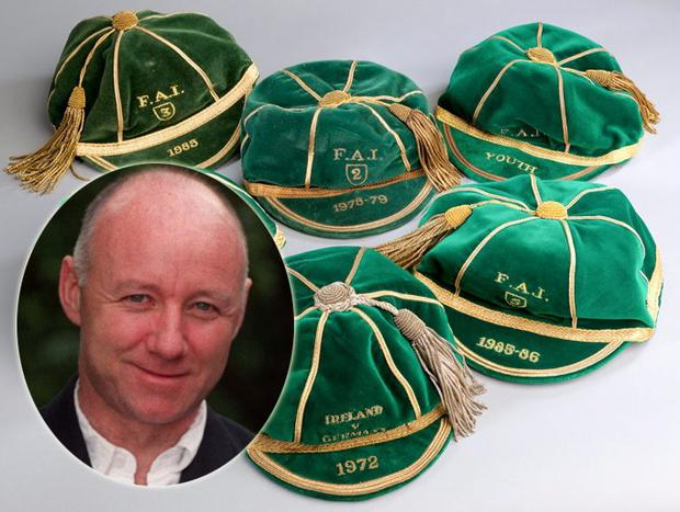 Former international Langan putting caps up for auction - Independent.ie 2a8fe26ede1