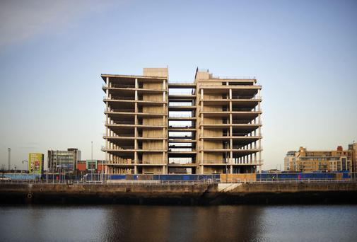 The site for the new Central Bank on Dublin's quays