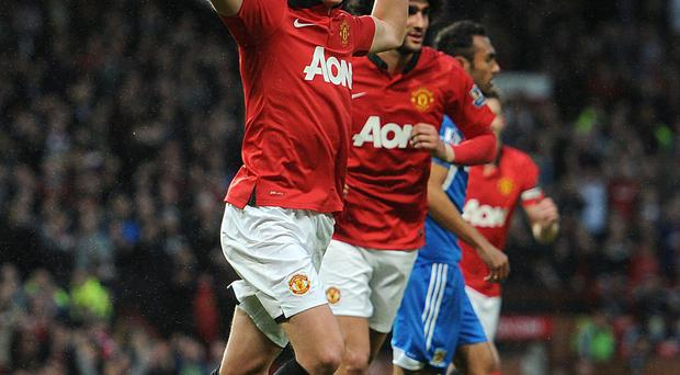 James Wilson will be hoping to get another chance for Manchester United against Southampton on Sunday.