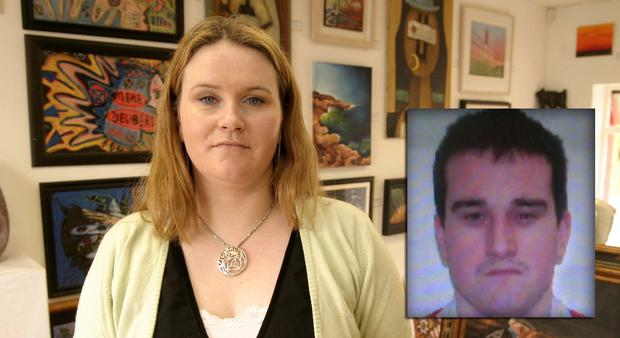 Sylvia Roche-Kelly (33), whose body was discovered in a Limerick hotel in 2007 after birthday party. Inset, her killer Jerry McGrath