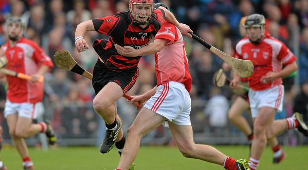 Pauric Mahony in action for Ballygunner against Passage in the Waterford SHC