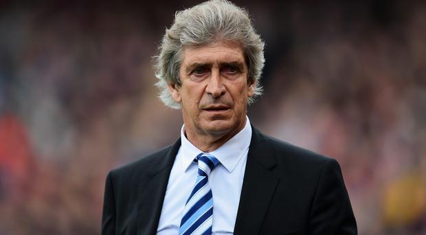 Manuel Pellegrini, manager of Manchester City
