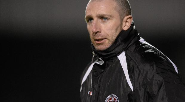 Bohemians manager Owen Heary