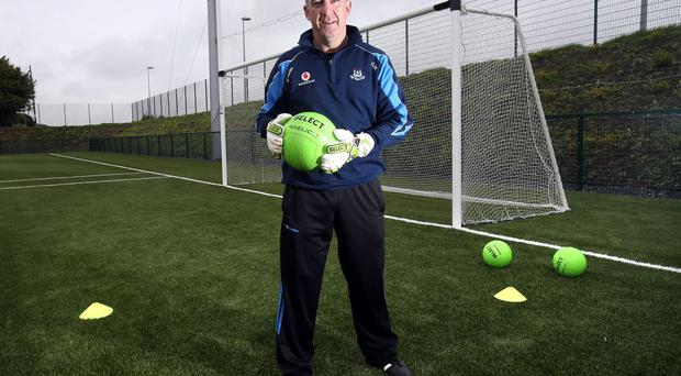 Gary Matthews: 'We work with the 600g ball. A regular match ball is only 450g so you saw improved results very quickly