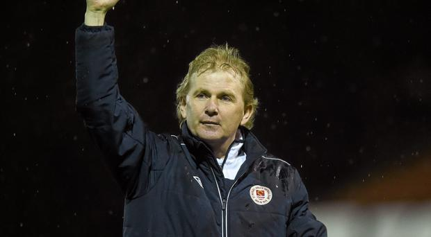 St Patrick's Athletic manager Liam Buckley