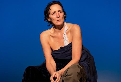Fiona Shaw in The Testament of Mary, by Colm Tóibín