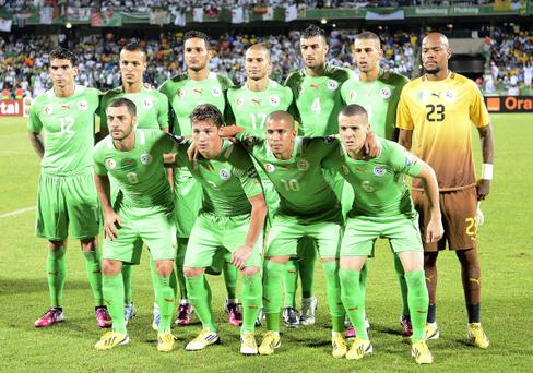 Algeria will hope for any improvement from the 2010 World Cup in South Africa