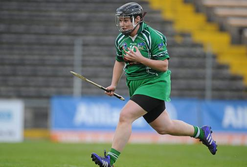 Sarah Collins scored one of five goals for Limerick