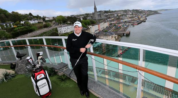 Shane Lowry, the 2009 Irish Open champion, took to the high seas today to launch the countdown to the Irish Open, which will take place at Fota Island Resort from June 19-22.