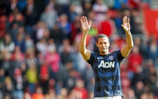 Defender Rio Ferdinand has not been offered a new contract by Manchester United and will leave the club this summer.