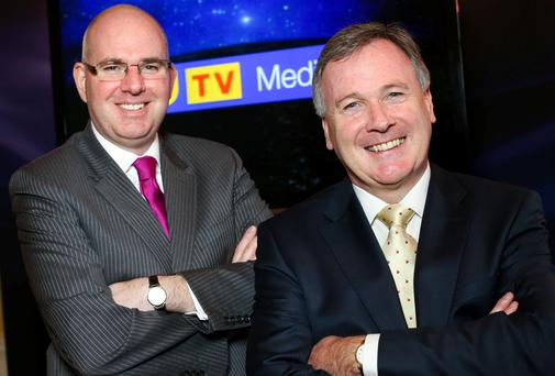 UTV Ireland's managing director Michael Wilson and chief executive John McCann are building their team ahead of January's launch