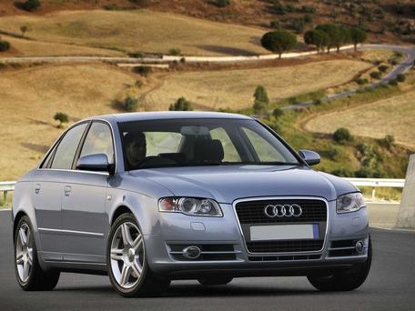 The couple were driving a silver Audi A4 similar to this one