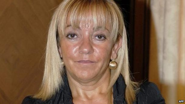 Isabel Carrasco (58) of the ruling Poplar Party was shot dead while walking through the Northern Spain town of Leon