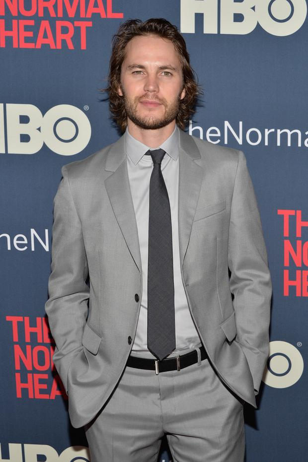 Actor Taylor Kitsch attends the New York premiere of