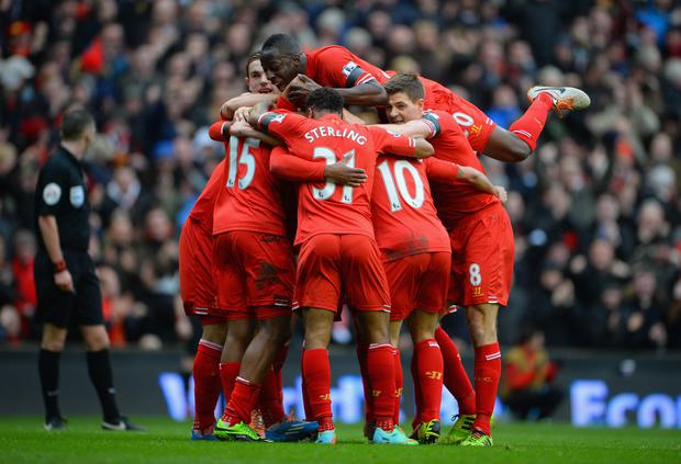How do the 2014 crop compare to the last Liverpool team that finished second in the Premier League?