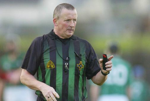 Legend has it that referee Carthage Buckley had to be escorted from the 1986 'Battle of Aughrim' in the boot of a car to protect him from incensed Laois fans