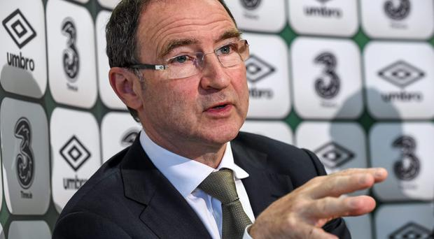 Republic of Ireland manager Martin O'Neill will use the friendly with Oman as a warm-up for the EURO 2016 qualifier against Georgia. Photo: Ray McManus / SPORTSFILE