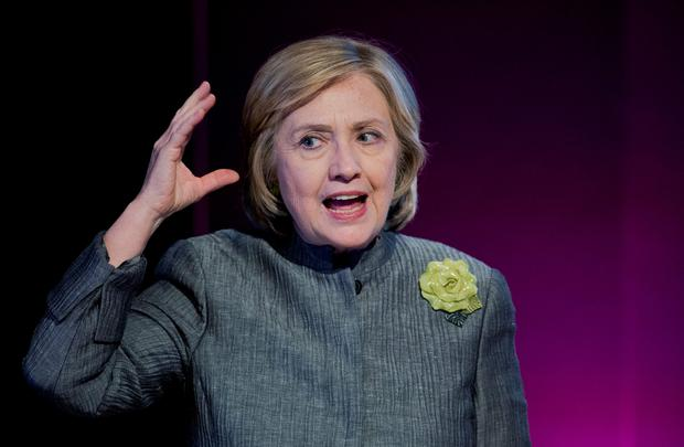 Mrs Clinton remains far and away the frontrunner to take her party's presidential nomination