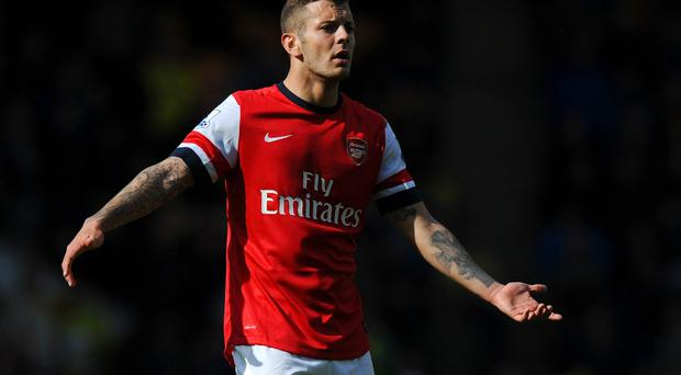 Jack Wilshere got in touch with Paul Scholes after the former Manchester United midfielder criticised his lack of development. Photo: Steve Bardens/Getty Images
