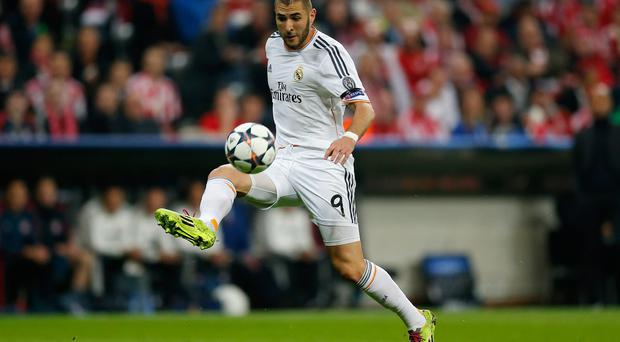 Karim Benzema could command a transfer fee of £30million if he was to leave Real Madrid this summer. Photo: Boris Streubel/Getty Images