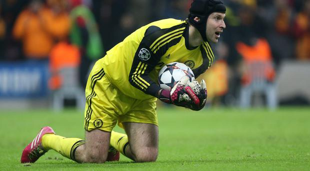 Petr Cech could be allowed to leave Chelsea this summer, with Thibaut Courtois set to return to Stamford Bridge. Photo: John Berry/Getty Images