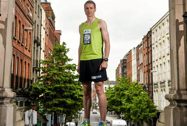 The 2014 SSE Airtricity Dublin Marathon and Race Series was officially launched today by athlete Sean Hehir, where organisers announced a new three year partnership with SSE Airtricity, a new route for 2014, and the return of an invited Elite Field. Picture credit: David Maher / SPORTSFILE