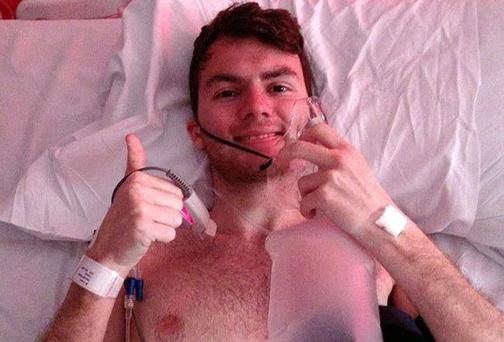 Cancer patient and charity campaigner Stephen Sutton died yesterday after his long battle with the illness. Photo: Stephen Sutton/PA Wire