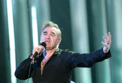 English singer Morrissey AFP PHOTO / DANIEL SANNUM LAUTEN