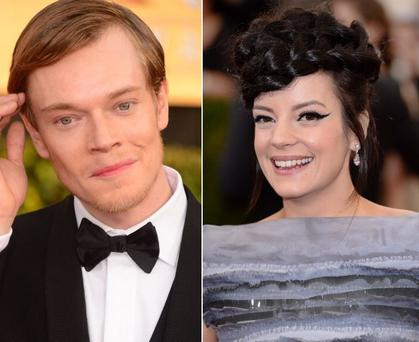 Lily Allen (right) turned down a 'Game of Thrones' role opposite her brother Alfie (left)
