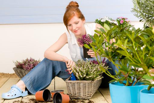 Before you start any work on a communal garden, check with the management company. Photo: Getty Images.