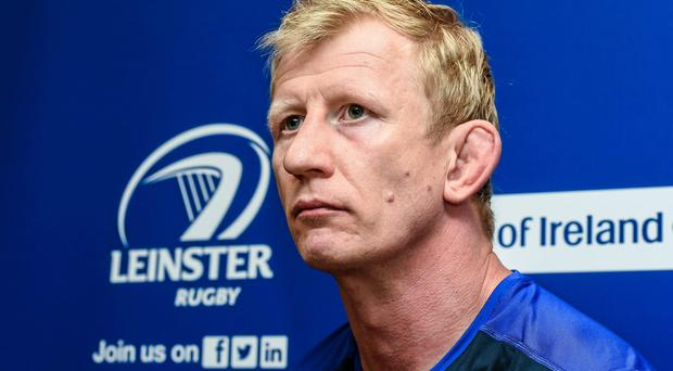 Leinster's Leo Cullen believes the Pro12's play-off system is good for the game. Photo: Matt Browne / SPORTSFILE