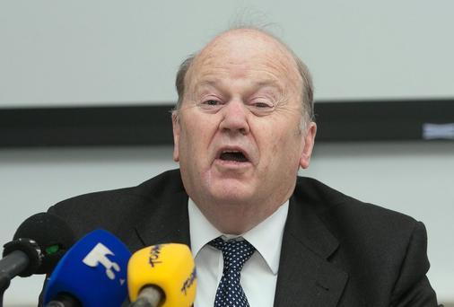 Minister for Finance Michael Noonan. Photo: Gareth Chaney Collins
