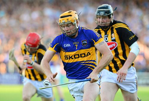 Tipperary's Padraic Maher is fed up with the pain of defeat but believes it will spur them on to a successful season. Photo: Ray McManus / SPORTSFILE