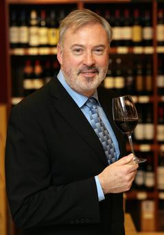 Liam Campbell, wine columnist chooses wines which are low in alcohol, but not in taste. Photo: Ronan Lang/Feature File