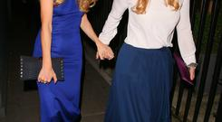 Cressida Bonas and Princess Beatrice of York at Annabel's club