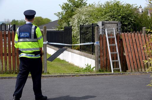 Scene at Sallybrook, Dungarvan, Waterford where the incident happened this morning. Picture: Caroline Quinn