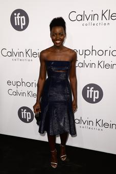 Actress Lupita Nyong'o attends the Calvin Klein party during the 67th Annual Cannes Film Festival
