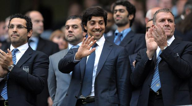 Manchester City have spent a staggering £1bn under Sheikh Mansour bin Zayed Al Nahyan's ownership. Photo: ANDREW YATES/AFP/Getty Images
