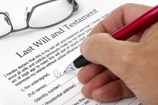 Signing a last will and testament can save a lot of heartache. Getty Images.