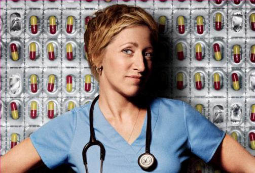 Medical Drama: Edie Falco in the starring role as Nurse Jackie