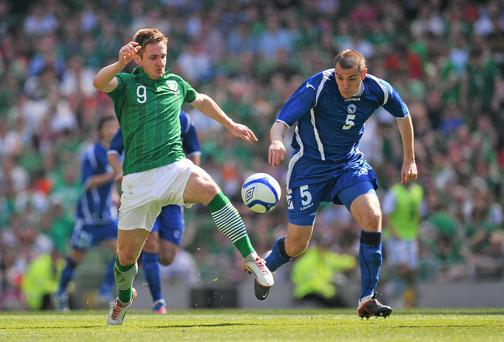 Kevin Doyle: 'I have always believed in myself, the self-belief has always been there. The personal motivation side of it is the hardest. Especially in league One, I found that difficult.' Photo: Diarmuid Greene / SPORTSFILE