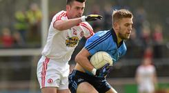 The tussle between Tyrone and Dublin drew the lowest numbers of viewers in the events chosen for the poll, despite it being free to air on TG4. Photo: Ray McManus / SPORTSFILE