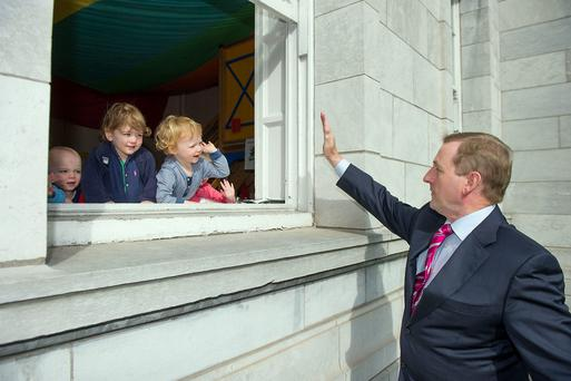 Enda Kenny TD at the opening of Cork City Local Enterprise Office
