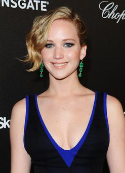 Jennifer Lawrence attends Lionsgate's