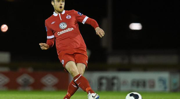 John Russell's volley for Sligo Rovers against Bray Wanderers has been hailed by manager Ian Baraclough