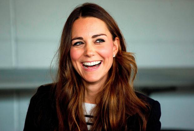 Would Kate Middleton be the right choice for a royal visit? Picture: DAVID BEBBER