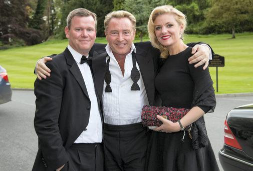 David Cronin, Chief Executive UL Foundation with Niamh and Michael Flatley