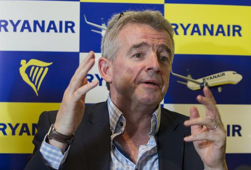 Ryanair's Michael O'Leary Photo: Damien Eagers